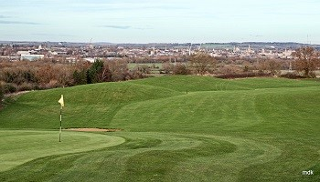 2nd Green and Fairway
