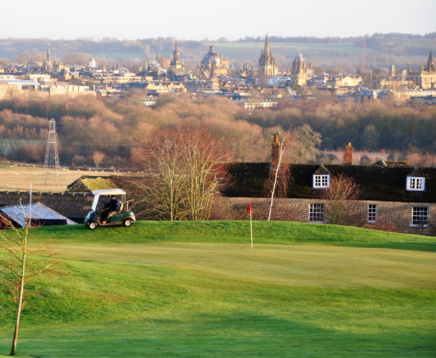 golf clubs oxfordshire