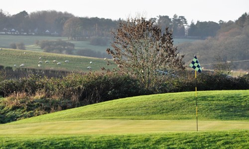 13th Green at Hinksey Heights